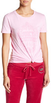 Juicy Couture Floral Framed Tee