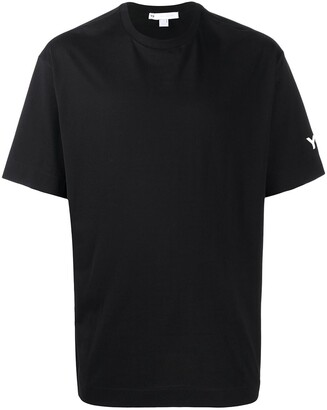 Y-3 logo print cotton T-shirt