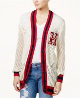Tommy Hilfiger TOMMYXGIGI Patch Open-Knit Cardigan