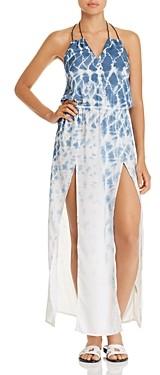 Surf.Gypsy Tie-Dye Maxi Dress Swim Cover-Up