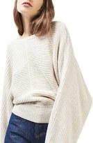 Topshop Women's Kimono Sleeve Sweater