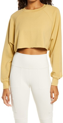 Alo Double Take Crop Sweatshirt