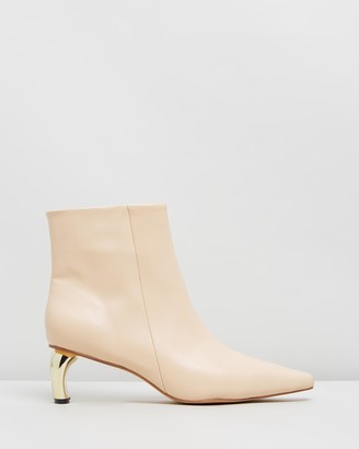 Atmos & Here Gemma Leather Ankle Boots