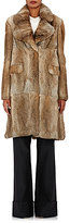 Co Women's Rabbit Fur Coat