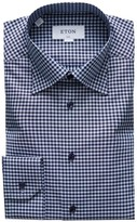 Eton Slim-Fit Gingham Dress Shirt