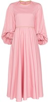 Roksanda Fife balloon-sleeve midi-dress