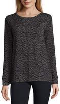 Liz Claiborne Long Sleeve Sweatshirt