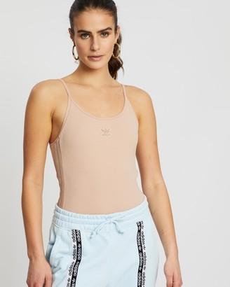 adidas Women's Neutrals Bodysuits - Bodysuit - Size 12 at The Iconic