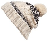 BP Women's Cable Knit Beanie - Brown