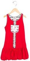 MonnaLisa Girls' Lola Bunny Drop Waist Dress