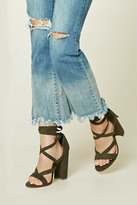 Forever 21 FOREVER 21+ Strappy Faux Suede Heels