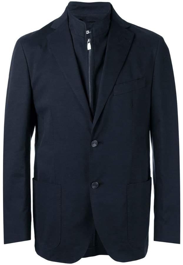 Corneliani patch pockets blazer