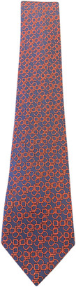 Hermes Blue Silk Ties