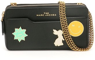 Marc Jacobs Chain Mini Bag With Logo Charm