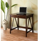 Linon Tiziano Laptop Desk Aged Cherry