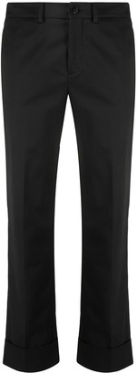 Incotex Cropped Slim Trousers