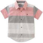 Calvin Klein Ether Stripe Shirt, Big Boys (8-20)