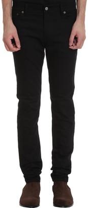 Acne Studios North Stay Jeans In Black Denim