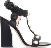 Gucci Willow leather t-bar sandals