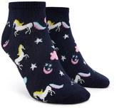 Forever 21 FOREVER 21+ Unicorn Print Ankle Socks