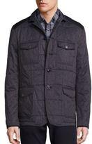 John Varvatos Quilted Utility Jacket