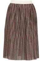 Dorothy Perkins Womens *Tenki Multi Coloured Shiny Midi Skirt