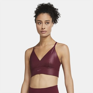 Nike Women's Light-Support Padded Longline Sports Bra Indy