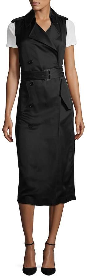 Victoria Beckham Women's Sleeveless Fluid Trench Coat