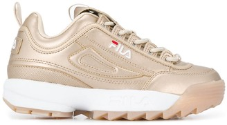 Fila Disruptor metallic sneakers