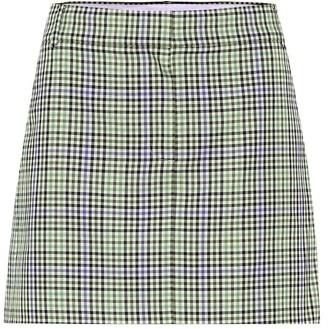 Tibi Checked miniskirt