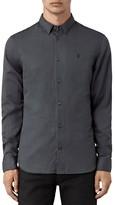 AllSaints Hermosa Slim Fit Button Down Shirt