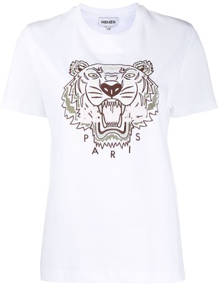 Kenzo Tiger slim-fit T-shirt