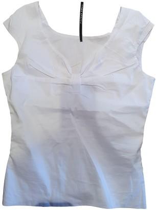 Liviana Conti White Cotton Top for Women