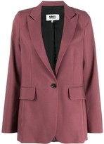 MM6 MAISON MARGIELA relaxed fit blazer