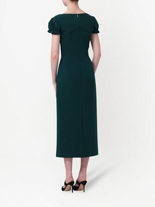 Jason Wu Collection Asymmetric Crepe Dress
