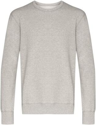 Reigning Champ Crew-Neck Fleece Sweatshirt