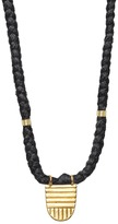 THE BRAVE COLLECTION - Buddhist Flag Necklace - Black