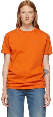 Off-White Off White Orange Logo Slim T-Shirt