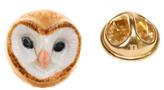 Nach Owl Porcelain Pin