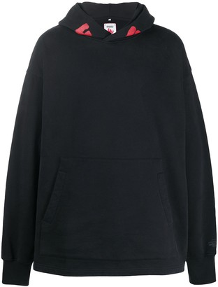 Acne Studios Monster In My Pocket print hoodie