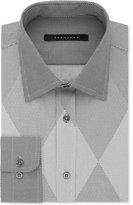 Sean John Men's Classic/Regular Fit French Gray Print Dress Shirt