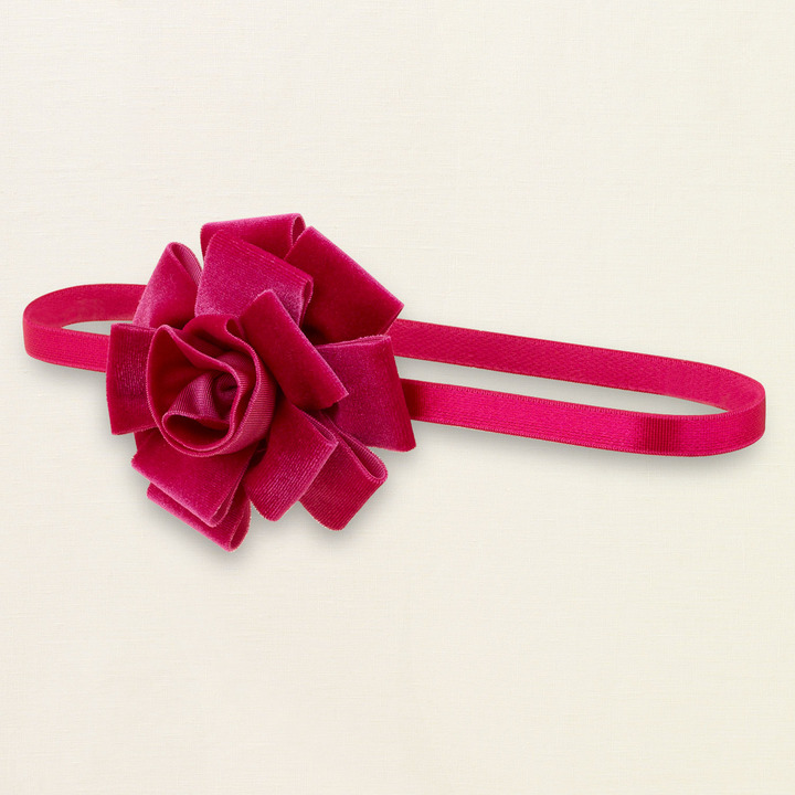 Children's Place Velour rose headwrap