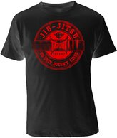 Tapout Jiu Jitsu Adult T-shirt (, Black/Red)