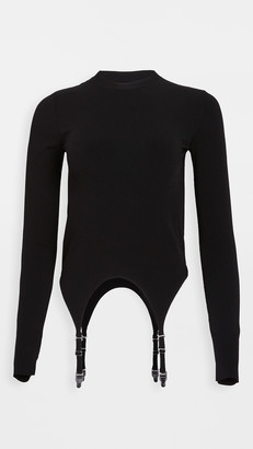 Dion Lee Garter Long Sleeve Top