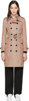 Burberry Pink Sandringham Trench Coat