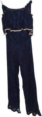 Shine Blue Jumpsuit for Women