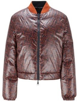 HUGO BOSS Reversible down jacket in water-repellent fabric