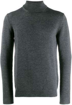 Roberto Collina turtleneck fine knit jumper