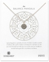 "Dogeared Balance Mandala Necklace, 14"""