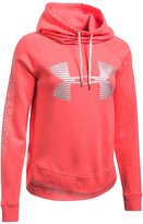 Under Armour Women's Favorite Fleece Metallic Logo Hoodie